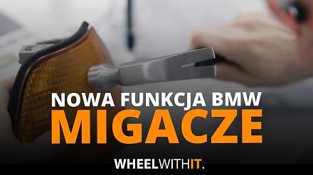 Nowa funkcja w BMW - kierunkowskazy