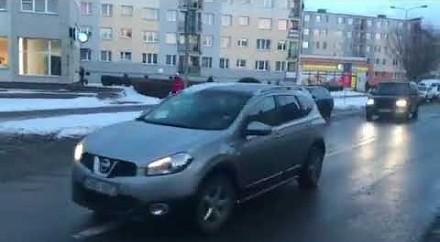 Szczyt parkowania z przyczepką