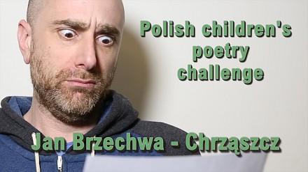 Anglicy łamią sobie języki na polskim wierszu dla dzieci