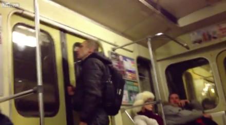 Mistrz kung-fu w metrze