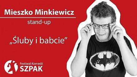 Mieszko Minkiewicz w stand-upie o ślubach, trudach małżeńskich, wirtualnym katolicyzmie i babciach