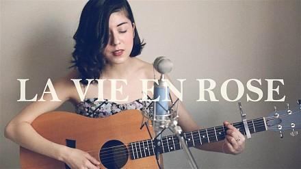 "Ładna pani i świetny cover ""La Vie En Rose"""