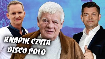 Tomasz Knapik czyta głupie teksty disco polo