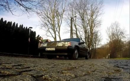 Volvo 940 - Test cegły z Redblockiem