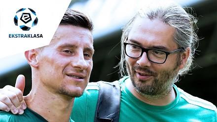 Fizjoterapeuta piłkarskiego Śląska Wrocław. Szaman, potomek Indian?