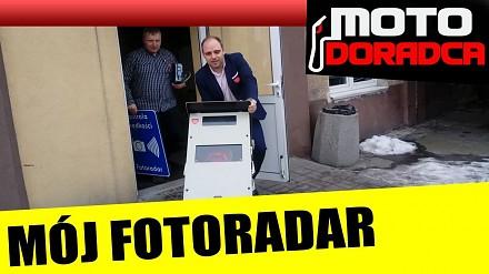 """Motodoradca """"odebrał"""" Straży Miejskiej w Pabianicach fotoradar"""