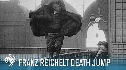 Mija 106 lat od testu płaszcza-spadochronu