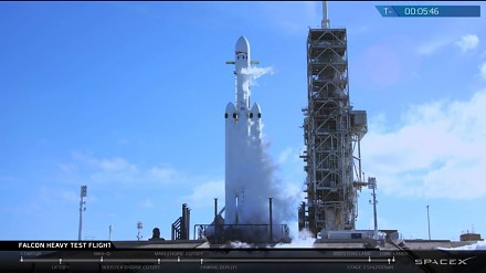 Falcon Heavy od Muska i jego pierwszy testowy lot