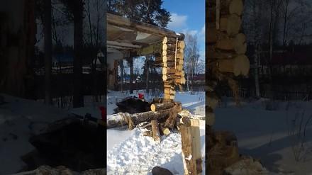 Głupota nie boli, ale może zabić, czyli rozbiórka drewnianego domku