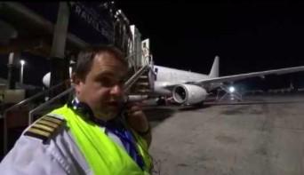 Obchód przed lotem samolotu A320 przedstawiony przez polskiego pilota