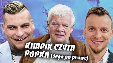 Knapik czyta Popka i inne polskie teksty