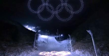 Imponujący pokaz ponad tysiąca zsynchronizowanych dronów na otwarciu ZIO
