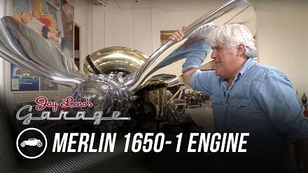 Jay Leno odpala silnik Merlin 1650 z samolotów z II WŚ