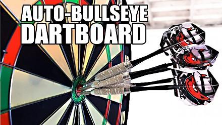 Automatyczny Bullseye, czyli o tym, jak być mistrzem w rzutki