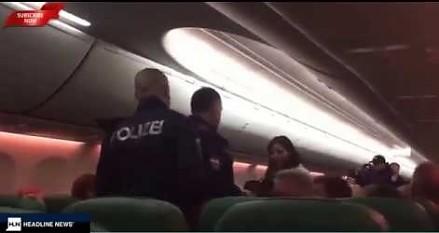 Broń biologiczna i bójka na pokładzie samolotu z Dubaju
