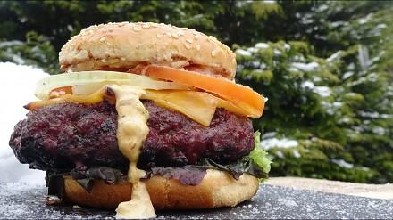Rozgrzewający burger od Kwasiora