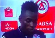 Piłkarz zalicza wtopę podczas wywiadu