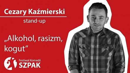 Cezary Kaźmierski: stand-up o alkoholu, rasizmie i kogucie