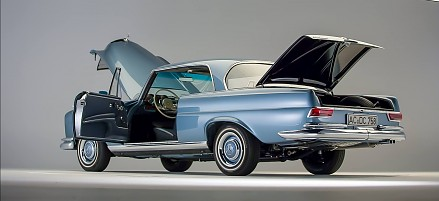 Piękno motoryzacji - Mercedes-Benz 1966 250SE W111