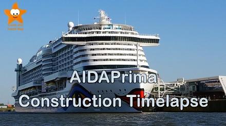 Piękny timelapse z budowy statku AIDAprima