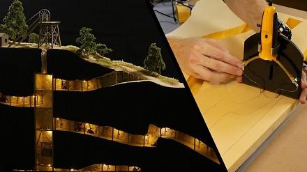 Realistyczny model kopalni złota