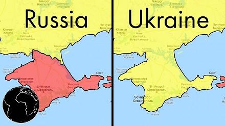 Granice na mapach Google przebiegają inaczej w zależności od lokalizacji