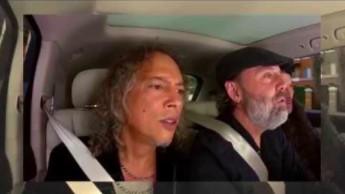Metallica w carpool karaoke i kawałek Rihanny