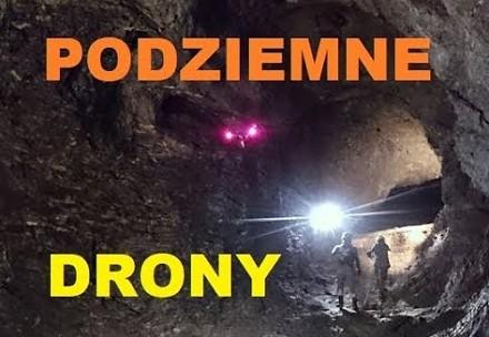 Prawdopodobnie pierwsze ujęcia z drona z polskich podziemi