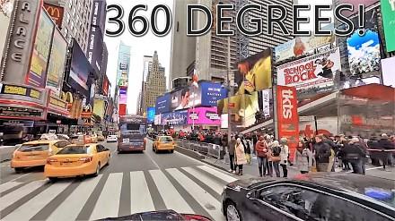Przejazd przez Manhattan, w rozdzielczości 8K i 360°