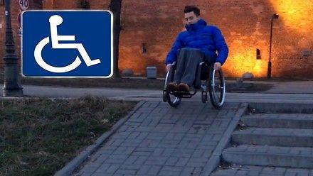 Jak inwalidzi schodzą po schodach? Zobacz te i inne filmy z kanału inwalidy