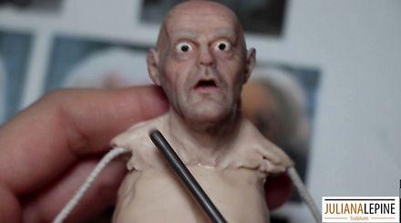 """Niesamowite wykonanie figurki doktorka z """"Powrotu do przyszłości"""""""