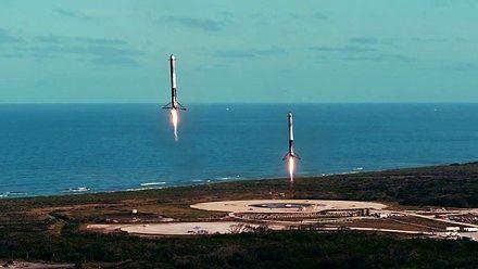 Podsumowanie pierwszej misji Falcona Heavy