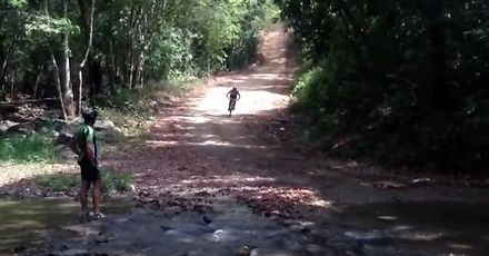 Groźny wypadek kolarza górskiego w Wenezueli