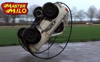 To dopiero zabawa - testowy przejazd RollGolfem!