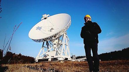 RT4 Kopernik - największy w tej części Europy radioteleskop