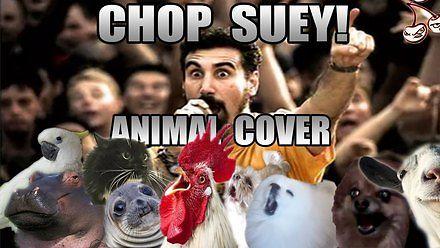 Zwierzęcy cover System of a Down - Chop Suey! z samego końca internetów