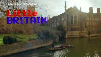 Serial Little Britain i rola Stephena Hawkinga