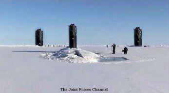 Cwiczenia ICEX 2018, czyli okręty podwodne na Arktyce