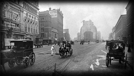 100 lat ewolucji w ruchu drogowym - 1910 - 2010