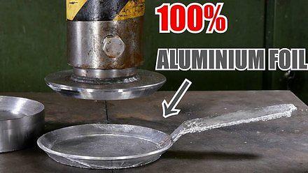 Patelnia z folii aluminiowej