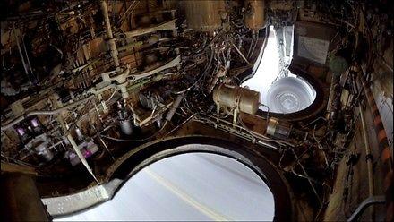Kamerka w luku podwoziowym Boeinga 737