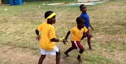 Jamajska sztafeta 4x100 metrów z nawrotem