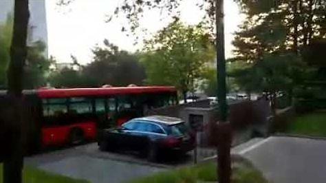 Autobus widmo rozbija się w Bratysławie