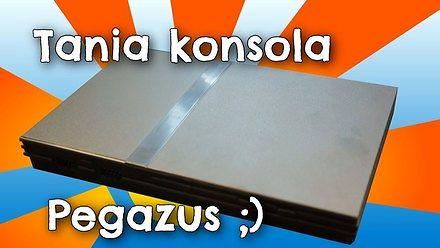 "Tania konsola ""Pegazus"" a'la Playstation"