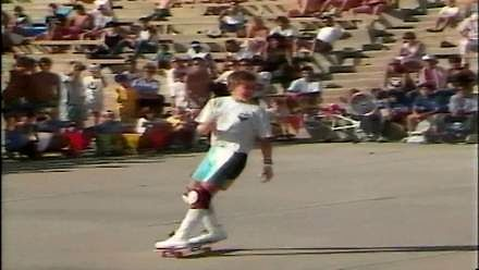 Rodney Mullen - konkurs Freestyle Oceanside 1986