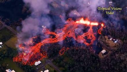 Hawajski raj zamienił się w piekło po erupcji wulkanu