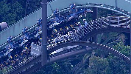 Ewakuacja z rollercoastera