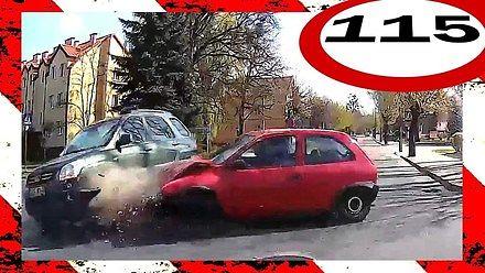 Stracił panowanie nad samochodem na rondzie, czyli polskie drogi #115