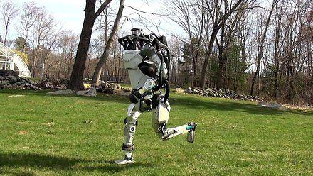 Robot zażywa świeżego powietrza