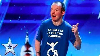Niemy komik w Britain's Got Talent